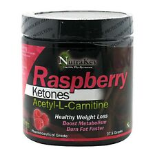Nutrakey Raspberry Ketones Acetyl-L-Carnitine POWDER 150 Servings