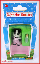 SYLVANIAN FAMILIES VINTAGE BADGER BABY GIRL, 4051 ELLA UNDERWOOD SET (BNIB)