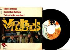 YARDBIRDS EP PS Shape Of Things France Riviera 231170 French rare UNIQUE COVER!!