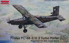 RODEN® #443 Pilatus PC-6B-2/H-2 Turbo-Porter in 1:48