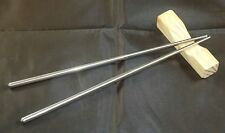 STAINLESS STEEL CHOP STICKS & REST KIT - JAPANESE - COOKING - RICE - JAPANESE