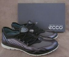 ECCO Lynx Speedlace Metallic Dark Shadow Leather Shoes Size US 8 - 8.5 EU 39 NWB