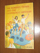 Vintage The Bobbsey Twins & the Doodlebug Mystery by Laura Lee Hope 1969 Hrdbck
