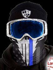 Salt Armour Police Appreciation Frost Tech Thermal Fleece Face Shield Balaclava