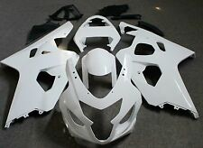 Unpainted Drilled ABS Bodywork Fairing Kit for SUZUKI GSXR600/750 2004 2005 Raw