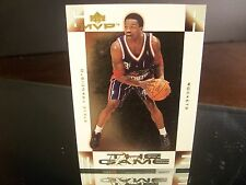 Insert Steve Francis Upper Deck MVP 2001 Card #RG12 RESPECT THE GAME Houston