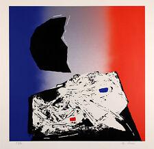 Edmondo BACCI - Avvenimento A - Serigrafia originale firmata - 1970