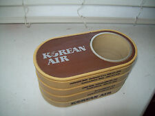 Vintage Korean Air Airlines Office Caddy