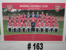 Arsenal FC Team Poster 2013/2014   (#163)  Brand New - rolled in tube
