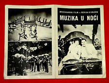 MUSICA EN LA NOCHE 1958 MEXICAN TITO DAVISON AMALIA AGUILAR EXYU MOVIE PROGRAM