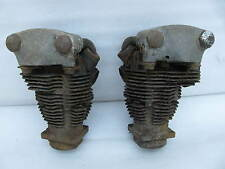 set of original 1936 / 1937 Harley Davidson Knucklehead engine motor Heads