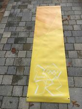 LONDON Paralympic Olympics 2012 Flag Sign Banner Mint Olympic Memorabilia Ylw