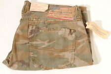 Denim & Supply Ralph Lauren Polo Camo American Flag Tag Slim Shorts 36 NWT's D2E