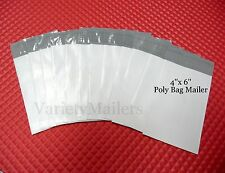 55 VERY SMALL 4x6  POLY BAG MAILER PLASTIC SHIPPING ENVELOPES 4''x6''