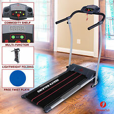 New Electric Motorized Treadmill Machine Folding Portable Running Gym Fitness