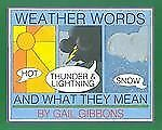 Weather Words and What They Mean-ExLibrary