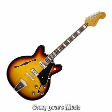 Fender Coronado 3 Color Sunburst Electric Guitar Rosewood Fretboard