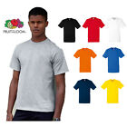 5 Pack Fruit Of The Loom Heavy Cotton Tshirt S - 3XL