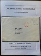 GB 1970 cover with PARLIAMENTARY SECRETARY / CROWN cachet