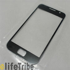 Front Glass Outer Lens Touch Screen Cover for Samsung Galaxy S i9000 - Black