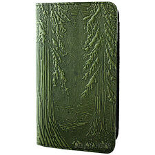 FOREST Oberon Design Leather CHECKBOOK COVER/Holder Fern-Green fir trees CKM19