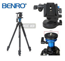 Benro A1573FS2 Video Tripod with Adjust Rotating Levelling Base Complete Kit