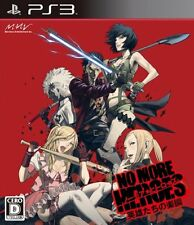 (Used) PS3 No More Heroes: Eiyuutachi no Rakuen  [Import Japan] Free Shipping、