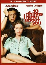 10 Things I Hate About You [10th Anniversary Edition] (2010, DVD NIEUW) WS