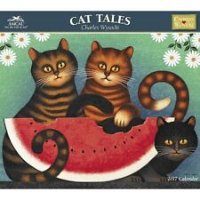 Charles Wysocki Cat Tales Deluxe Wall Calendar