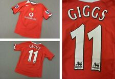 2004-06 nike Manchester United Home Shirt GIGGS 11 SIZE L.Boys (Youth)