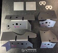 Redish Motorsport - BMW E46 V2 Chassis Subframe Repair Reinforcement Plate Kit