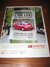 *AM14= DAIHATSU CUORE =PUBBLICITA'=ADVERTISING=WERBUNG=COUPURE=