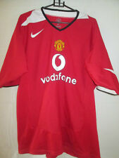 Manchester United 2004-2006 Home Red Devil Football Shirt Size Extra Large 34466