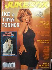 revue JUKEBOX MAGAZINE N°173 - IKE & TINA TURNER BALAVOINE  STATUS QUO  JL LEWIS