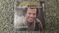 Julio Iglesias - Le monde est fou, le monde est beau 7'' Single SUNG IN FRENCH