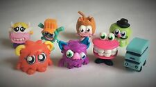 MOSHI MONSTERS – 8 x FIGURES – SERIES 4