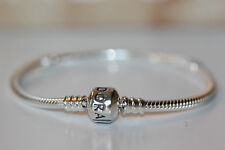 AUTHENTIC PANDORA STER S BRACELET 9.1 /23 CM 590702hv BARREL CLASP W/GIFT BOX!
