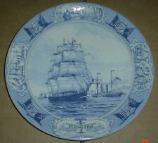 Wedgwood Queensware Collectors Plate GLIDDERN AND WILLIAMS LINE FLYING FISH