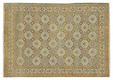 100% Handmade Traditional 9 x 12 Oushak All-Over Rug Rugs for Bedrooms from Agra
