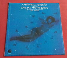 CANNONBALL ADDERLEY LP ORIG FR FANTASY LOVE SEX AND THE ZODIAC RICK HOLMES EX++