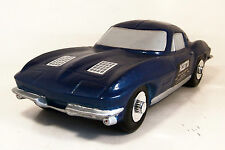 """PACESETTER DECANTER ~ 1963 CORVETTE COUPE ~ BLUE ~ 11"""""""