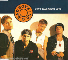 BAD BOYS INC - Don't Talk About Love (UK 4 Tk CD Single)