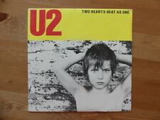 "U2 - Two Hearts Beat as One - FRENCH FRANCE Yellow Cover Vinyl 7"" 45T 814 653-7"