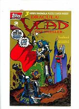 """1992 Topps Comics """"Vlad the Impaler"""" issue # 2 of 3, poly-bagged with cards, NM."""