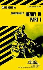 Cliffs Notes on SHAKESPEARE'S HENRY IV PART I - 1997 - EUC!
