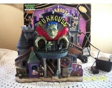 2006 MIB Lemax Spooky Town Halloween Lighted & Animated Building Funhouse