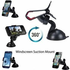 CAR WINDSCREEN SUCTION MOUNT HOLDER CLIP CRADLE FOR MOBILE PHONE PDA SAT NAV UR