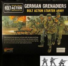 Bolt Action WGB-START-25 WWII German Grenadiers Starter Army Infantry Puma Stug