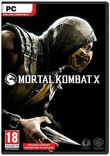 MORTAL KOMBAT x PC COMPLETO GIOCO DIGITALE-STEAM DOWNLOAD chiave