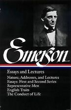 Ralph Waldo Emerson Essays and Lectures by Ralph Waldo Emerson (Hardback, 1983)
